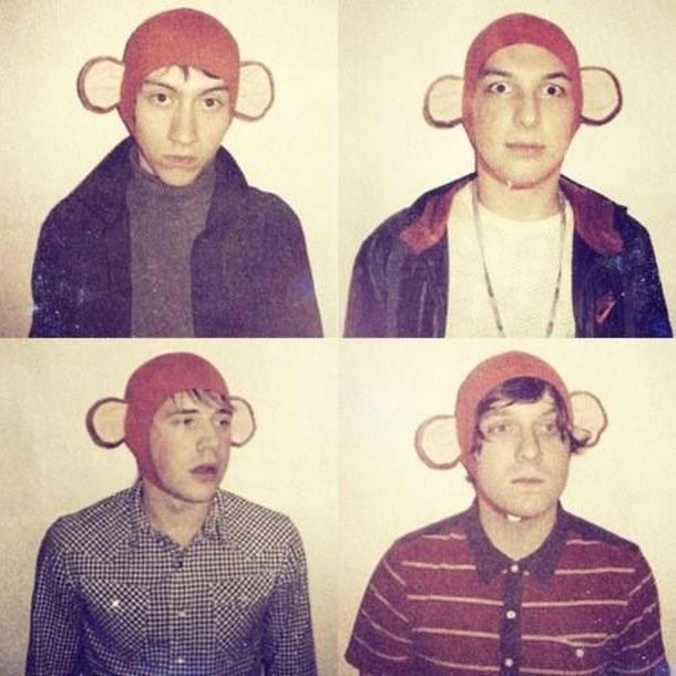 Arctic Monkeys monkey hat
