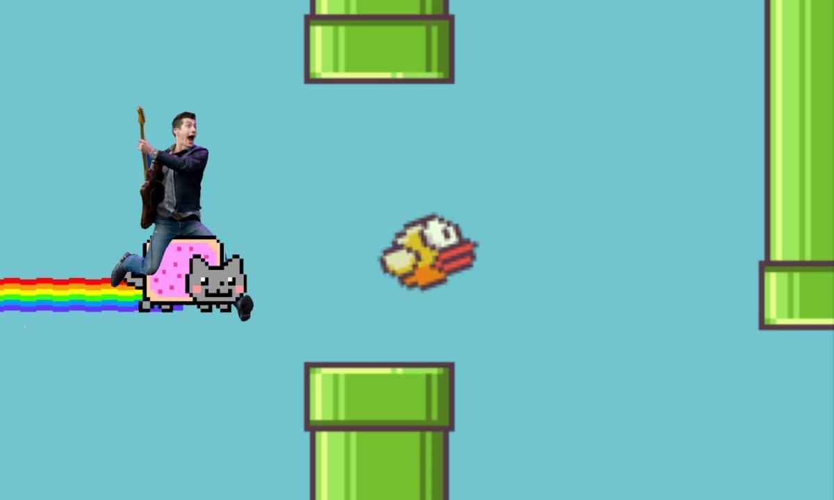 Lista: Músicas/clipes para se entrar no clima 8-bit de Flappy Bird
