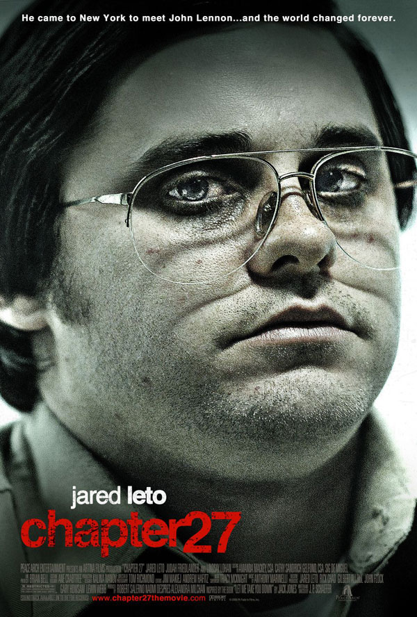 Chapter 27 movie poster Jared Leto